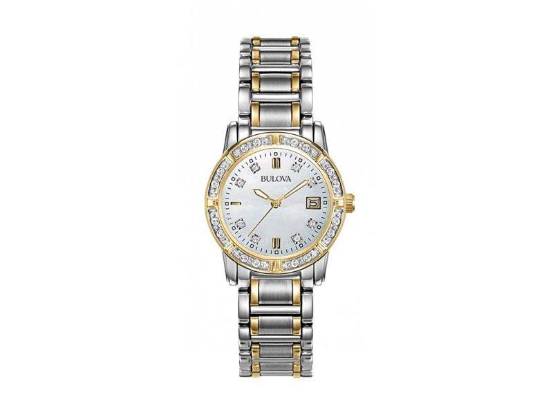 Zegarki powyżej 1000 zł Z szafirowym szkłem  Z diamentami Bulova Eleganckie Timetrend powyżej 1000 zł Bulova Eleganckie Eleganckie Eleganckie Promocje główna Bulova Diamond 98W107