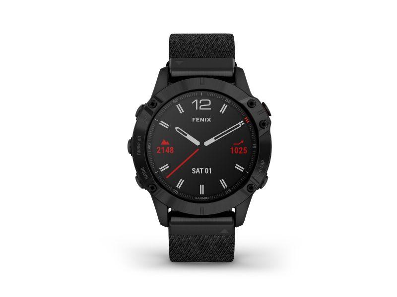 Timetrend Garmin powyżej 1000 zł powyżej 1000 zł GARMIN FENIX 6 Sapphire Black DLC 010-02158-17