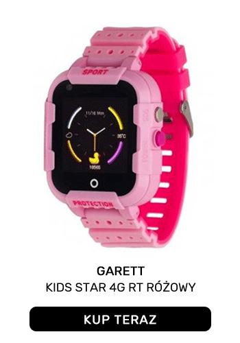 GARETT KIDS STAR 4G RT RÓŻOWY
