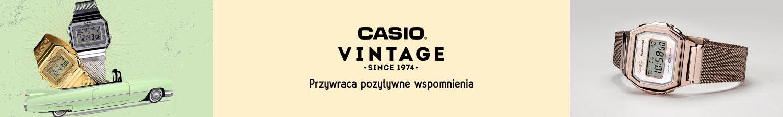 zegarki Casio Vintage